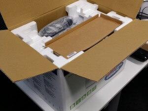 Brother HL-1110 Schachtel geöffnet