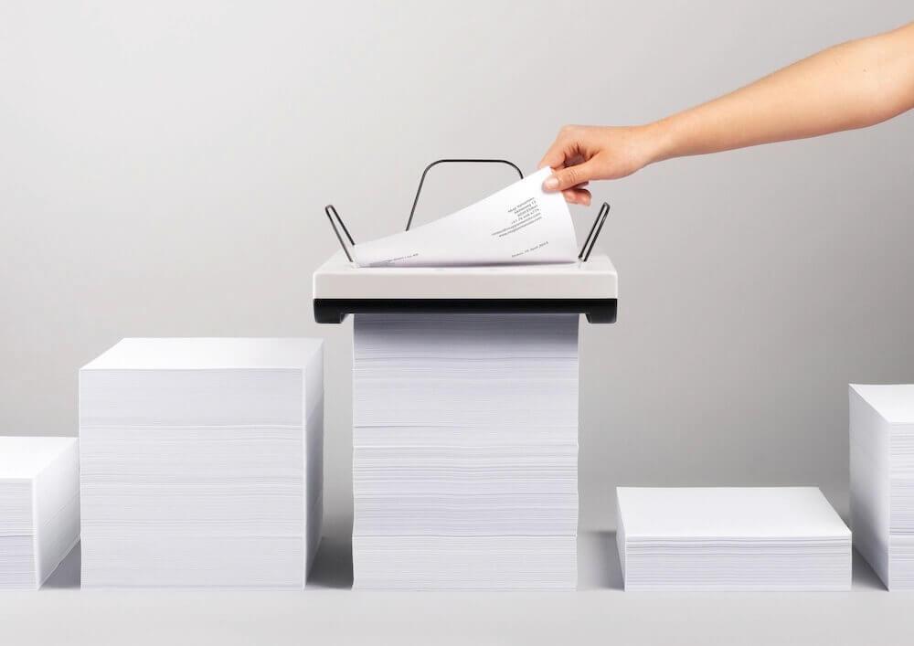 Papierstapeldrucker