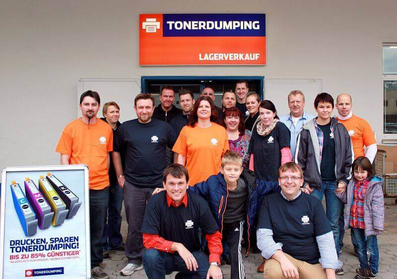 Das TONERDUMPING-Team
