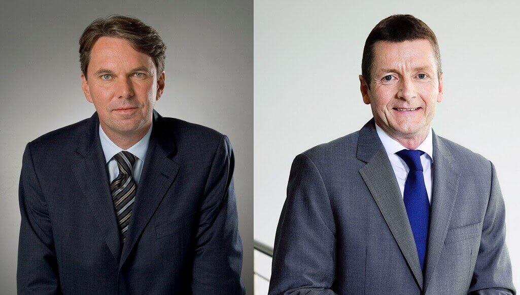 Links: Rainer Führes, rechts: Jeppe Frandsen