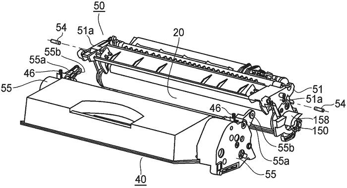 Eine Zeichnung aus einem der betroffenen Canon-Toner-Patente