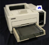 "Der HP 2687 ""Bonsai Laser Printer"""
