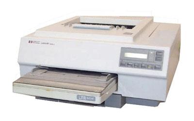 Der HP LaserJet II