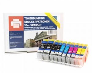 Das 10er-Tintenset von TONERDUMPING für 44,99 €
