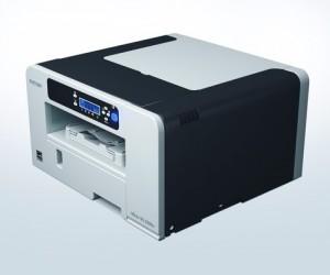 Der Geljet SG2100N von Ricoh. Supergünstig in der Anschaffung, preiswert im Verbrauch.