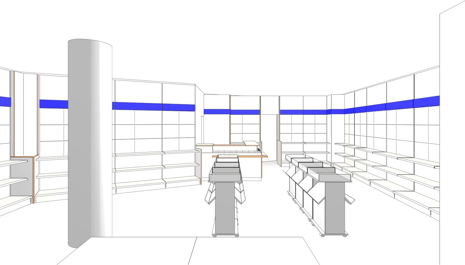 Innenansicht der Wilmersdorfer Arcaden