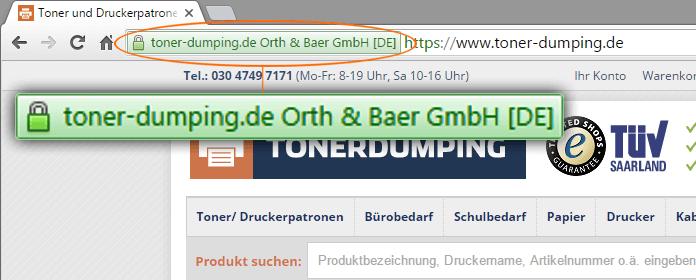 Sicher online Druckerpatronen kaufen