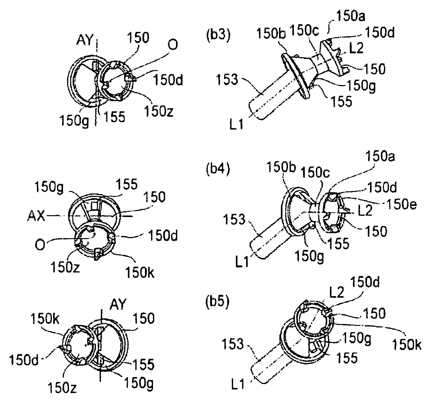Die Kupplung beim CE505- bzw. CF280-Toner