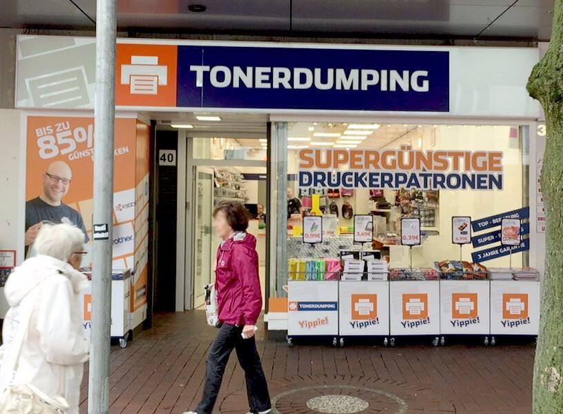 Nun ist es geschafft: Eine Eröffnung als Punktlandung. Seit heute sind es 4 TONERDUMPING-Geschäfte in Hamburg.