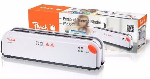 Peach PB200-70 ein kompaktes Thermobinde-Gerät, das sich sehen lässt.