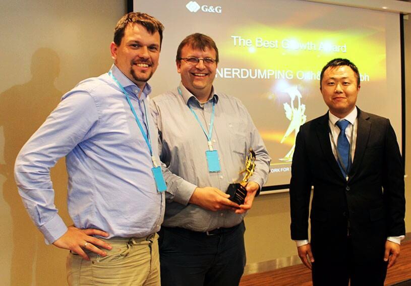 Daniel Orth, Friedbert Baer und Oleg Zhao (von links nach rechts)