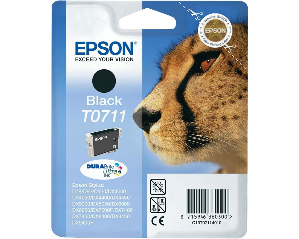 EPSON T0711 alte Verpackung