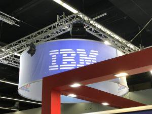 Die Marke IBM konnte man am Messestand von Turbon / Embatex finden.