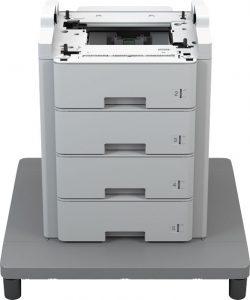 Für 1.189 € kann man die Papierkapazität um 2.100 Seiten erweitern.