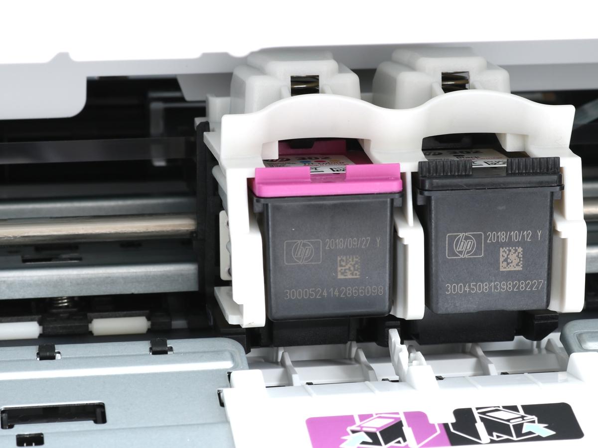 Die HP 302 Druckerpatronen im HP DeskJet 3636