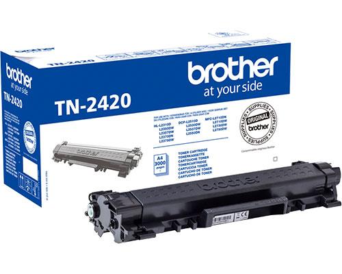 Jetzt mit 3.000 Seiten Kapazität: Der TN-2420 von Brother