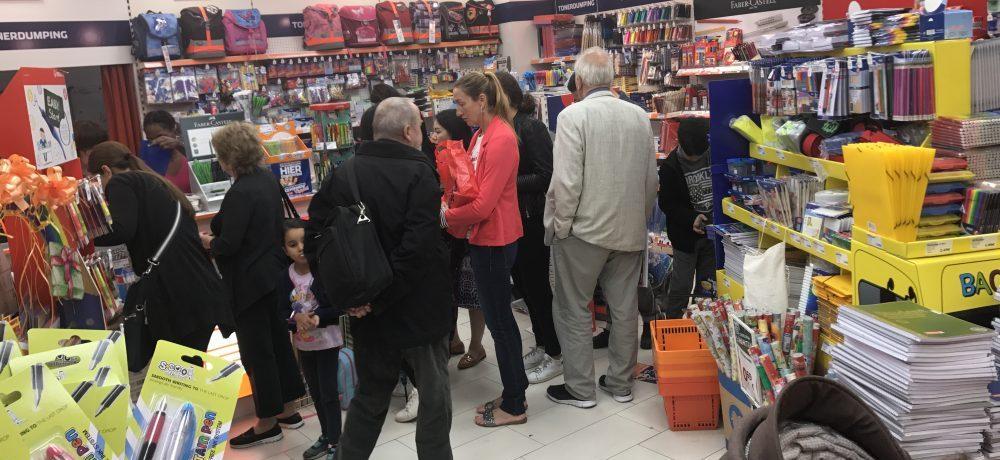 Schulaktion 2017 in den Wilmersdorfer Arcaden
