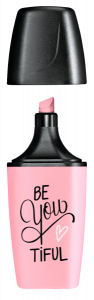 Be You tiful Textmarker in Pastell pink