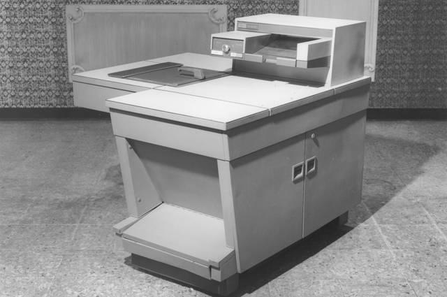 Der Xerox 914 war das meistverkaufte Industrieprodukt aller Zeiten.