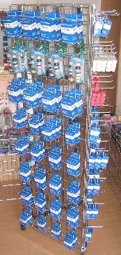Ein tolles Angebot gab es ab dem Jahr 2005 für Fachhändler, die ebenfalls Tonerdumping-Produkte verkaufen wollen. Das Tonerdumping-Drehregal.