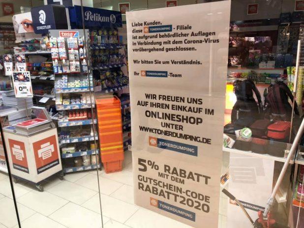 Wegen Corona geschlossen: Unsere Läden in Berlin und Hamburg