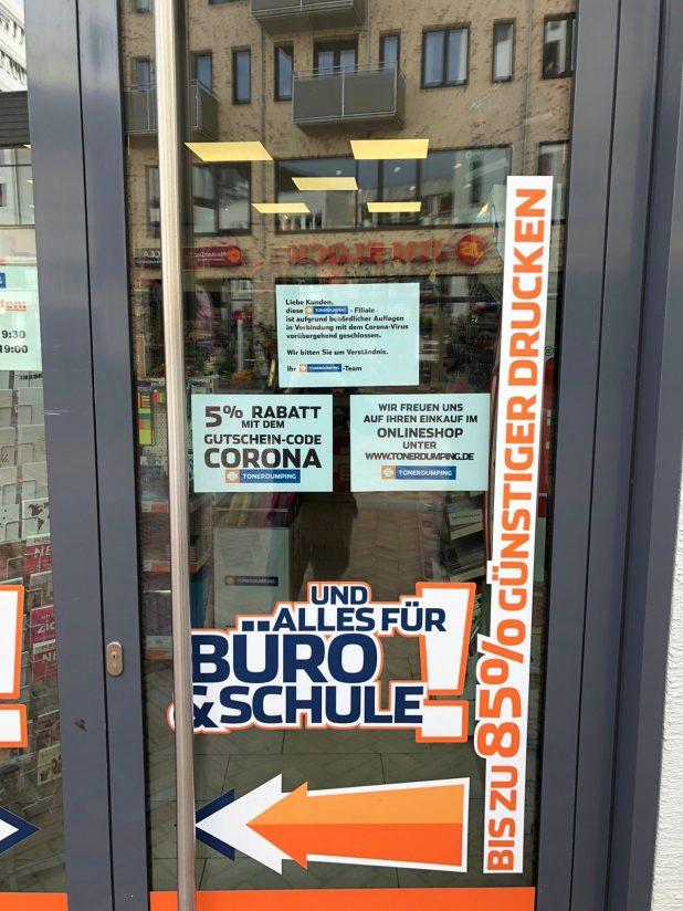 Shut-down in Hamburg: Wegen Corona geschlossen