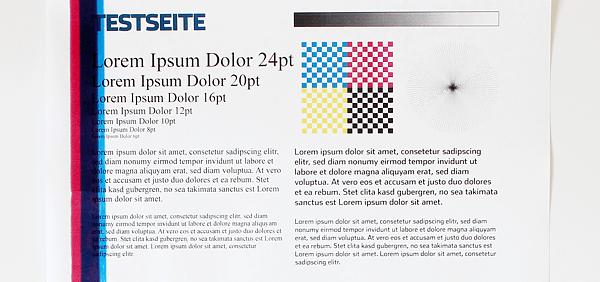 Gemütlich Druckfarbe Testseite Hp Galerie - Beispielzusammenfassung ...