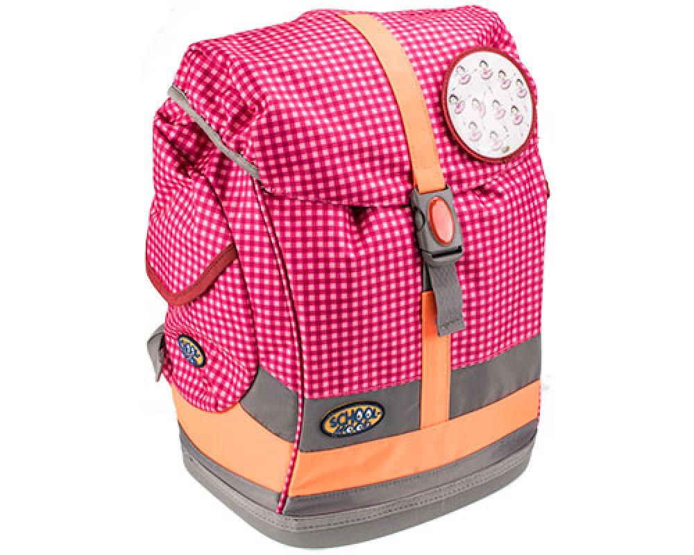 d20b78d435082 School-Mood Schulrucksack-Set Fly 2-tlg. Ballerinas vichy pink