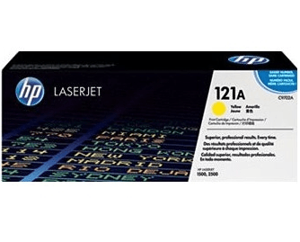 HP Original Toner 121A/ C9702A f�r HP Color LaserJet 1500/ 2500 gelb (4.000 S.)