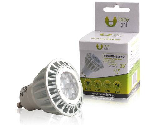 force light power led lampe gu10 230v 360 lm warmwei 6 5 w entspricht 40 w bei. Black Bedroom Furniture Sets. Home Design Ideas