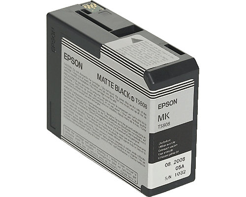 epson druckerpatrone t5808 schwarz matt f r epson stylus. Black Bedroom Furniture Sets. Home Design Ideas