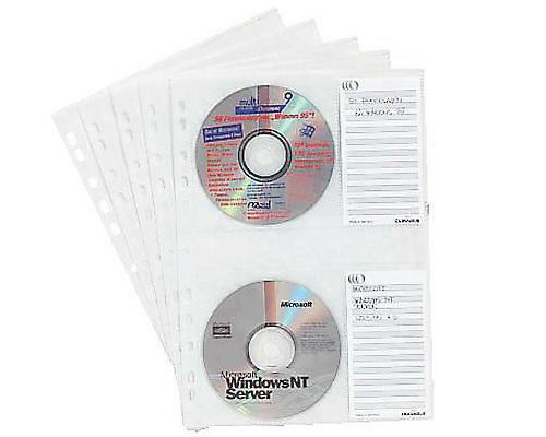 durable cd dvd h llen folien dina4 transparent mit sichtfenster ve 5 folien f r je 4 cds. Black Bedroom Furniture Sets. Home Design Ideas