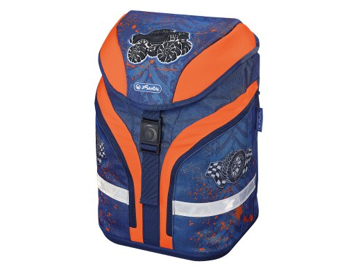 Herlitz Grundschulrucksack Motion Plus Monstertruck - Set