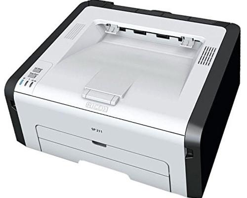 ricoh aficio sp211 laserdrucker 22 seiten pro minute bei. Black Bedroom Furniture Sets. Home Design Ideas