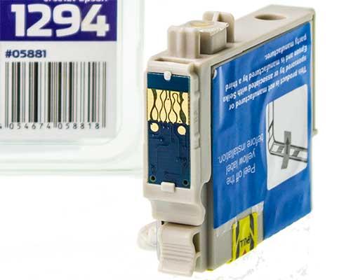 2 Nicht-Oem Tintenpatronen für Epson Et-T1294 Gelb